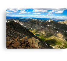 Mt. Quandary  Canvas Print