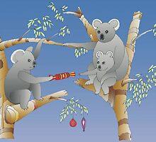Koala Christmas by 123jim