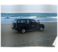 Beach 4WD Poster