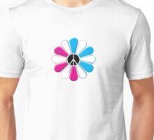 Peace Power Flower Unisex T-Shirt
