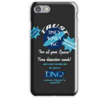 Timey-Wimey Inc iPhone Case/Skin