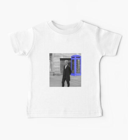 Doctor Who Mad Man In a Blue Box Baby Tee