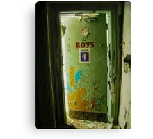 Boys! Boys! Boys!  Canvas Print
