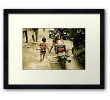 Manila Moment  Framed Print