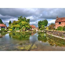 View across the pond Photographic Print