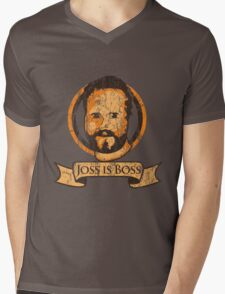 Joss Is Boss Mens V-Neck T-Shirt