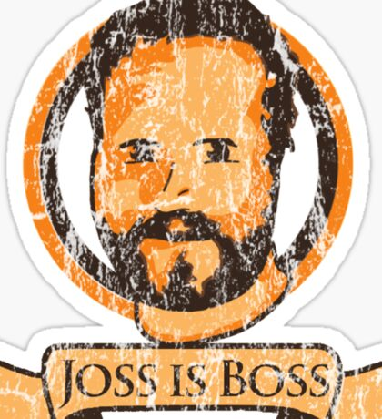 Joss Is Boss Sticker