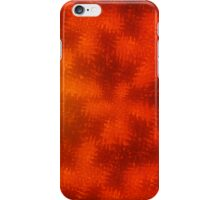 FROSTED AUTUMN SHADES OF RED iPhone Case/Skin