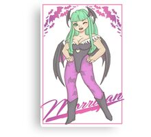 Morrigan Aensland Canvas Print