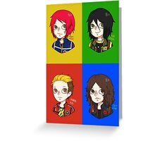 Killjoys. Greeting Card