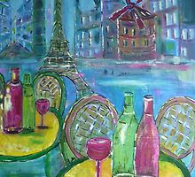 Parisian Fantasy by Angela Gannicott