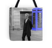 Doctor Who Mad Man In a Blue Box Tote Bag