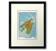 Canis - Land of the Wolf Framed Print