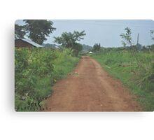 African Soil Canvas Print