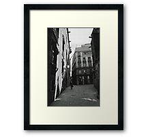 Walking Home Framed Print
