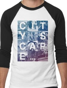 CITY SCAPE Men's Baseball ¾ T-Shirt