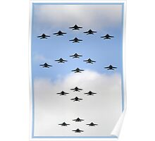 Flying in Formation Poster