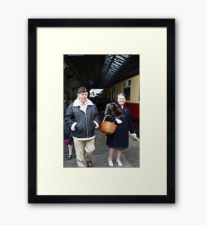 The Pickering War Weekend 2011 43 Framed Print