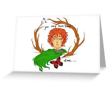 Kvothe the Bloodless Greeting Card