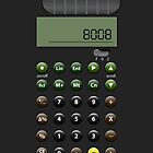 Calculator 8008 by Lara  Luz