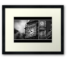 Big Ben | All in a Day's Work Framed Print