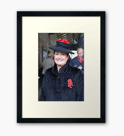 The Pickering War Weekend 2011 50 Framed Print
