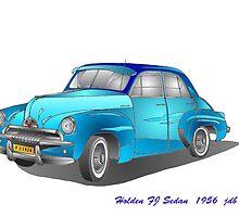 Holden FJ Sedan  1956 by 123jim