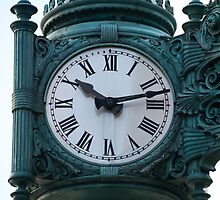 Marshall fields clock by bjphotographs