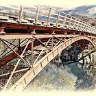 Iron Bridge, Ohau River by Phoxford