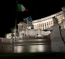 Monument to Vittorio Emanuele by Rae Tucker