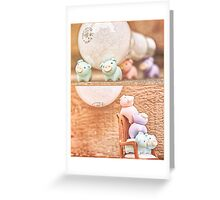how many piggies dose it take to screw in a light bulb? Greeting Card