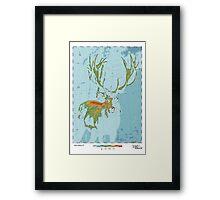 Cervidae - Land of the Deer Framed Print