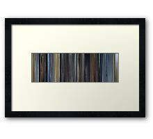 Moviebarcode: The Happiness of the Katakuris (2001) Framed Print