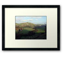 Chrome Hill & Parkhouse Hill Framed Print