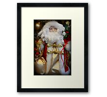 Ho Ho Ho, Merry Christmas Framed Print