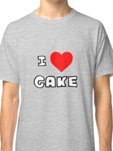 I Heart Cake Classic T-Shirt