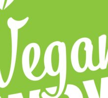 Vegan WDW Logo Sticker