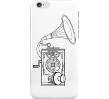 Mobile Gramaophone iPhone Case/Skin