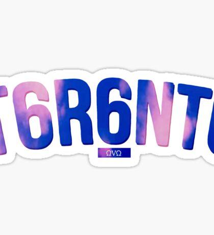 T6R6NT6 Sticker
