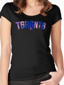 T6R6NT6 Women's Fitted Scoop T-Shirt