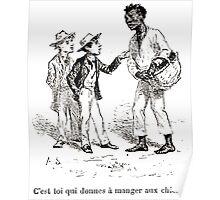 Achille Sirouy Mark Twain Les Aventures de Huck Huckleberry Finn illustration p231 Poster