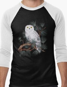 Snowy Men's Baseball ¾ T-Shirt