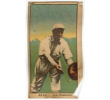 Benjamin K Edwards Collection Berry San Francisco Team baseball card portrait Poster