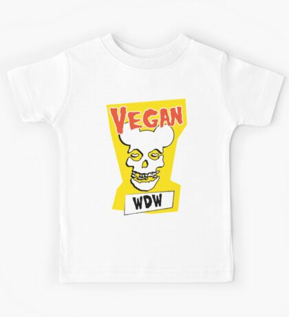 Veganism isn't a Horror Business Kids Tee