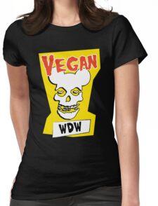 Veganism isn't a Horror Business Womens Fitted T-Shirt
