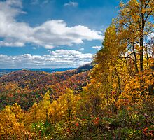 Blue Ridge Autumn by Joe Jennelle