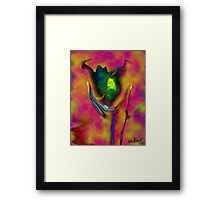 Abstract Digital painting- The Trophy Framed Print