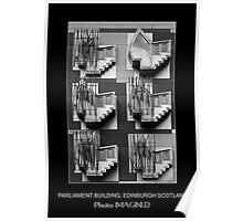 PARLIAMENT BUILDING, EDINBURGH SCOTLAND Poster