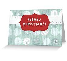 xmas card Greeting Card