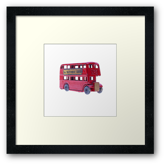 Red Double Decker Bus by Benjamin Liew